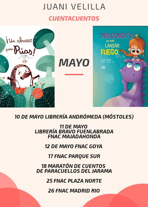 Cuentacuentos Mayo